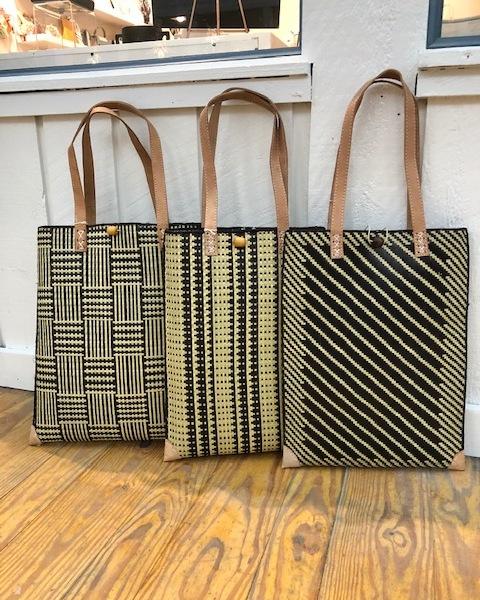 Straw bags from Madagascar. Fair trade.